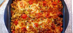 Deze witte bonen ovenschotel met gehakt, courgette, champignons en mozzarella is makkelijk te maken en superlekker. Bekijk hier het recept.