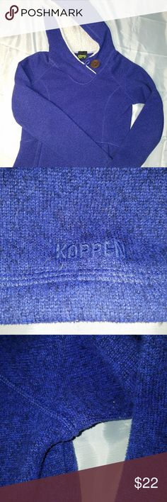 Koppen fleece hoodie Minor pilling, overall good condition koppen Tops Sweatshirts & Hoodies