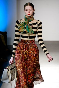 Contrast! - jetset collective by Farasha  http://ourfavoritestyle.com  http://facebook.com/OurFavStyle