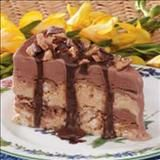 macaroon ice cream torte recipe from YumDom's vault of the best recipes curated from the top recipe sites on the web.