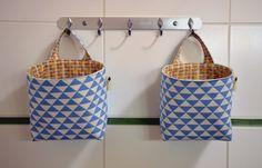 látkové košíky do koupleny; fabric baskets