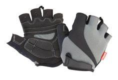SPIRO Short Cycling Gloves S257X -  HalfFinger Palm Grip - Black/Grey