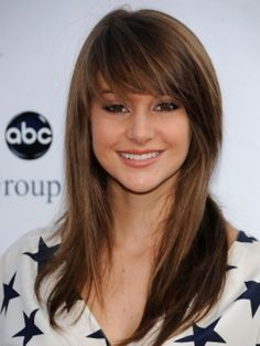 side bangs with layers