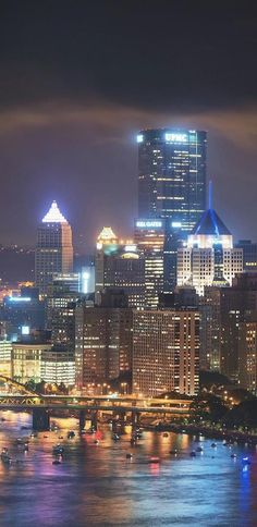 Pittsburgh!!! Such a cool city!