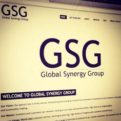 Global Synergy Group website - www.globalsygroup.com