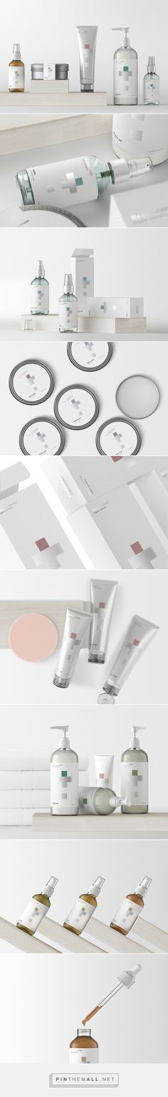 Healtheorem beauty product packaging design by SOYUZ² - www. Source by maikoaoki beauty products packaging Skincare Packaging, Cosmetic Packaging, Beauty Packaging, Label Design, Box Design, Graphic Design, Package Design, Design Agency, Identity Design