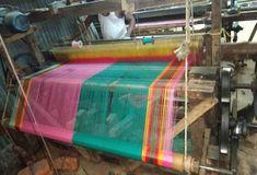 Modified power loom Loom Machine, Loom Weaving, Power Loom, Loom, Weaving, Knitting Looms, Loom Knitting