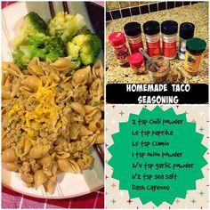 21 Day Fix: Homemade Taco Seasoning