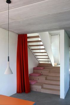 Escalera:Wall House by AND'ROL Architecture #arquitectura
