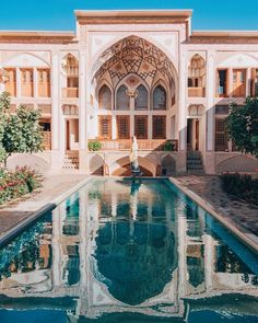 [New] The Best Travel (with Pictures) This is the 10 best travel today. According to travel experts, the 10 all-time best travel right now is. Persian Architecture, Cultural Architecture, Art And Architecture, Places To Travel, Places To Visit, Fachada Colonial, Iran Pictures, Persian Garden, Iran Travel