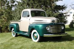 1949 Ford F-1 Pick-Up Truck.