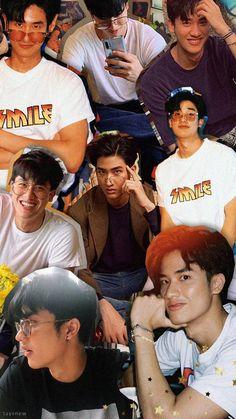 Pink Wallpaper Ios, Aztec Wallpaper, Lock Screen Wallpaper Iphone, Boys Wallpaper, Handsome Faces, Handsome Boys, Boyfriend Photos, Cute Gay Couples, Thai Drama