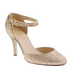 Ava glitter pumps- Love these, I could dance on Broadway with these shoes!