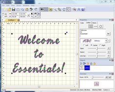 Embrilliance Essentials. Embroidery Software that does what the average person wants without breaking the bank. RUNS ON A MAC!!!