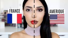 MAKE UP USA 🇺🇸 VS MAKE UP FRANÇAIS 🇫🇷