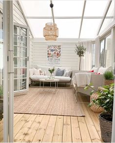 Ikea Patio, First Apartment, Screened In Porch, House Extensions, Conservatory, Sunroom, Pergola, Backyard, Cottage