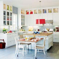 Combinaciones de colores para la cocina