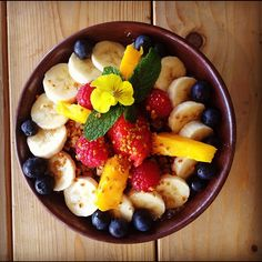Fresh Cafe Acai Bowl