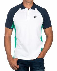 Mens Fashion Smart – The World of Mens Fashion Polo Rugby Shirt, Mens Polo T Shirts, Polo Tees, Polo Shirt Design, Polo Design, Camisa Polo, Smart Casual Polo Shirt, Armani White, Online Shopping Clothes