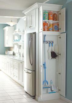 Genius Laundry Room Storage Organization Ideas (15)