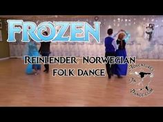 How to Dance the Reinlender Norwegian folk dance- a historically accurate cartoon princess dance from Frozen.