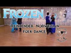 How to Dance the Reinlender Norwegian folk dance- a historically accurate cartoon princess dance from Frozen.