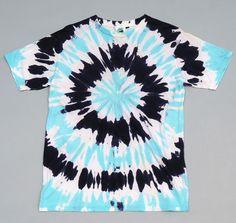 JUNGMAVEN: Tie Dyed Hemp/Cotton Blend T-Shirt, Sky