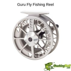 The Guru II is a solid mid priced machined fly reel, great for fresh and saltwater fishing. Fly Fishing Rods, Fishing Reels, Fishing Tackle, Fishing Tips, Fishing Lures, Trout Fishing, Fishing Boots, Fishing Store, Fly Rods
