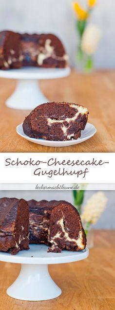 Schoko-Cheesecake-Gugelhupf