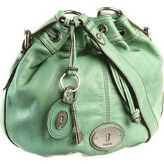 Fossil Maddox Drawstring bag - Sea Green