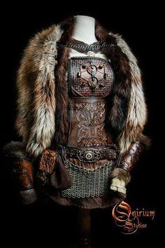 Viking inspired female set by Deakath. on Viking inspired female set by Deakath.deviantar… on Viking inspired female set by Deakath.