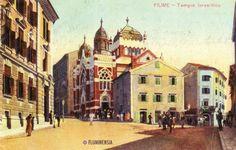 Velika sinagoga bila je sagrađena 1903. godine, a srušena 1948.