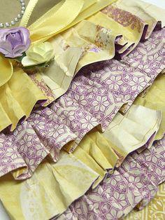 No Sew Paper ruffles tutorial from @Lemon Windy Robinson