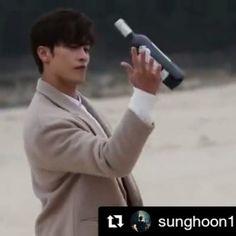 #Repost @sunghoon1983_support ・・・ BTS video #sunghoon drama shooting #mysecretromance .. .. #Repost @godinmedia . Global romance drama #MySecretRomance #behindthescenes Jin-uk(#SungHoon), at the beach with the wine on his hand. #Making version . #로맨틱코미디 는 #가딘미디어 #romanticcomedy by #godinmedia . #글로벌로맨스드라마 #글로벌로맨틱코미디 #사전제작드라마 #한국콘텐츠진흥원 #로맨틱코미디 #로맨스드라마 #1퍼센트의어떤것 #1프로의어떤것  #kocca  #KoreanDrama #KDrama . #배우성훈  @sunghoon1983  파이팅! @stallion__entertainment #ソンフン #방성훈  #sunghoon1983