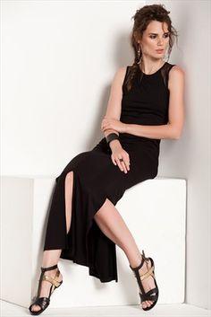 Sateen · Kadın Tekstil  - Siyah Elbise 360-SATEEN106-1005 sadece 29,99TL ile Trendyol da