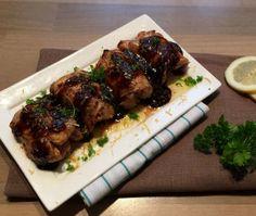 Zoete Knoflook Kip uit de Oven Dutch Recipes, Spicy Recipes, Chicken Recipes, Cooking Recipes, Healthy Recipes, Tapas, I Love Food, Good Food, Yummy Food