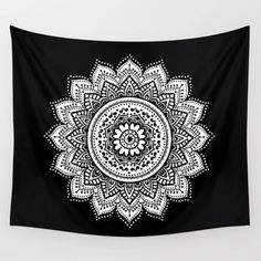 Mandalas Wall Tapestry by Haroulita
