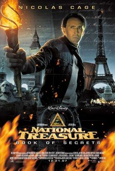 National Treasure: Book of Secrets -- A treasure hunter seeks the truth behind Lincoln's assassanation - 2007 ♥♥♥