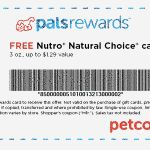 Free Nutro Natural Choice Cat Food Can