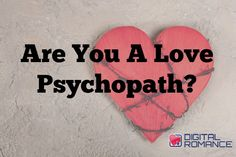 "Are You A Love Psychopath? - Do you know what a ""Love Psychopath"" is? Do you think you might be one or might be dealing with one? Check this article out as Michael Fiore explains what you should be watching out for... #crazylove #relationships #advice #dating"