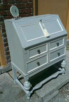 Painted bureau