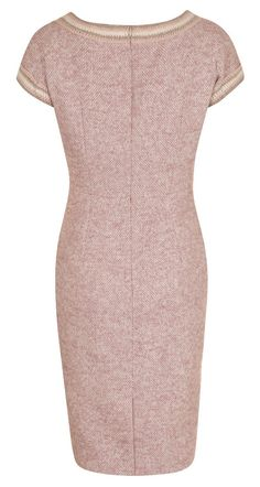 Mohair tweed dress