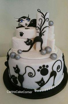 catcake - Cake by carinscakecorner