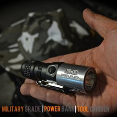 JR-X1: World's Smallest Military Grade Flashlight/Power Bank by Mon Chan — Kickstarter