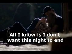 luke bryan- idon't want this night to end. ;