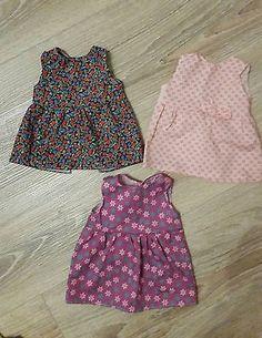 3x-Puppenkleidung-Puppenkleider-fuer-35-45-cm-grosse-Puppen-z-B-Baby-Born-Neu