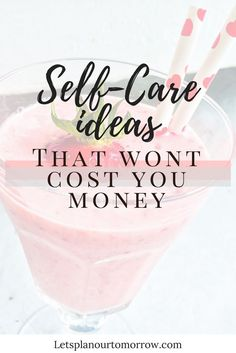 Self care ideas that
