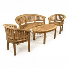 Set Teak Garden Furniture STG-1028