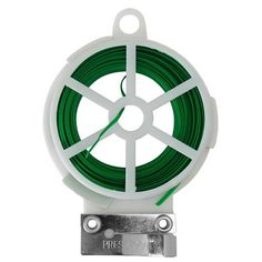 Bond Manufacturing Plant Twist Tie Dispenser, - Quantity Miracle Gro, Twist Tie Dispenser With Cutter, Ideal For Tying Plants, Vegetables & Vines. Garden Hose, Garden Tools, Walmart Shopping, Home And Garden, Green, Plants, Blue Lips, Ea, Vines