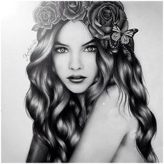 kristina webb is so good. I love how she draws hair